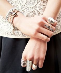 Wrist Wars! 15 Accessory Snaps That Stack Up