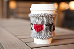 How to Knit a Tuts  Coffee Cozy for Fall — Tuts