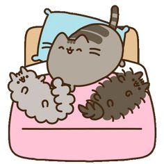 Pusheen Gif, Pusheen Love, Pusheen Stormy, Pusheen Stickers, Vanellope Y Ralph, Funny Doodles, Funny Phone Wallpaper, Nyan Cat, Cat Character