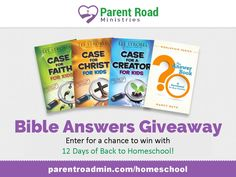 Enter to win one of FIVE family discipleship bundles at Life of a Homeschool Mom!