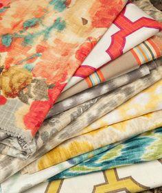 patterned fabrics from Hertex Hertex Fabrics, Drapery, Fabric Patterns, Upholstery, Cushions, Quilts, Blanket, Interior Design, Inspiration