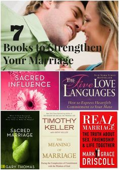 Marriage is hard and takes a lot of work. Lots of forgiveness, grace, selflessness, sacrifice, and love. These are some books that I have...