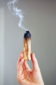 Palo Santo raises your vibration to give you a little kick to start your day. A Morning Smudging Ritual with @ashneese.