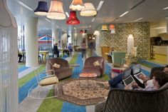 """Google's spectacular new """"super HQ"""" deep in the heart of London."""