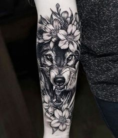 Wolf Tattoo Designs For Men45