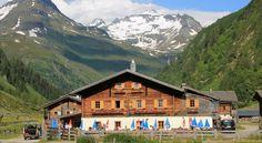 #Venedigerhaus Innergschlöß (1.691 m), Osttirol at National Park Hohe Tauern, Austria
