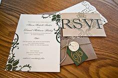 Victorian Wedding Invite