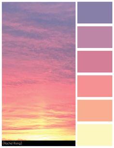 Wonderful Pics Color Schemes sunset Tips Most of us understand the fundamentals involving colour controls: via principal plus secondary colou Sunset Color Palette, Pastel Colour Palette, Sunset Colors, Colour Pallette, Color Palate, Pastel Colors, Colours, Color Schemes Colour Palettes, Color Combos