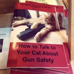 An essential pamphlet for all cat owners