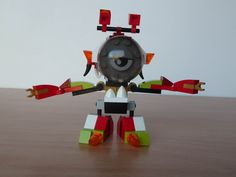 LEGO MIXELS BURNARD NURP NAUT MIX or MURP ? Instructions video with Lego 41532 and Lego 41521 Mixels Serie 4