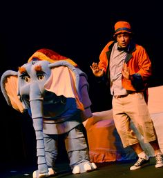 Espetáculo Circo de Bonecos.  Foto Vitória Domingo .