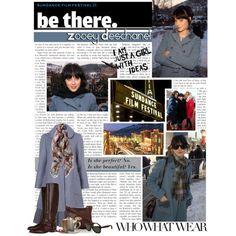 Street Style: Zooey Deschanel (Sundance)