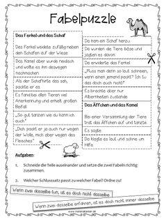 Die 33 Besten Bilder Von Fabeln Fabeln Fabeln Grundschule