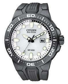 Citizen Scuba Fin Watch BN0095-08A http://www.deepbluediving.org/suunto-d4i-novo/