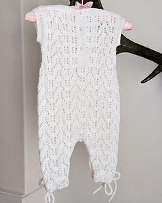 Ravelry: Aurora Baby Girl Romper Suit pattern by Gynka Knitwear