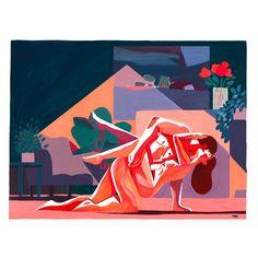 """503 Likes, 10 Comments - Kim Roselier (@kimroselier) on Instagram: """"Whisper #illustration #painting #whisper #kimroselier"""""""