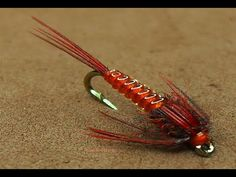Tying a Clear Stretch Pheasant Tail Nymph by mak-flies. Pay attention to the great tips on how to improve your ribbing technique - YouTube