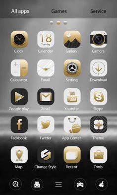 Elegant GO Launcher Theme- screenshot
