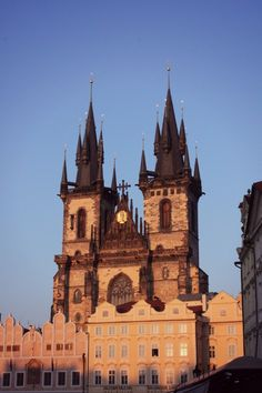 <3 #travel #europe #prague #czech_republic #church #cathedral #architecture