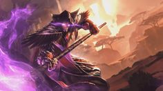 Medivh - Hearthstone: Heroes of Warcraft Wiki Warcraft Art, World Of Warcraft, Drop Cloth Curtains Outdoor, Hearthstone Heroes, Hearth Stone, Utah Temples, Heroes Of The Storm, Starcraft, Aesthetic Grunge