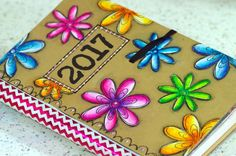 Dylusions Creative Dyary Art journaling