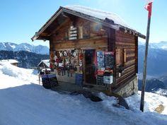 Shoppingcenter Belalp Switzerland :-)