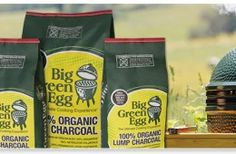 """Big Green Egg is committed to eco-friendly and natural products; Big Green Egg charcoal contains only 100% organic American oak and hickory """"ultra premium"""" hardwood … you will see — and taste — the difference immediately."""