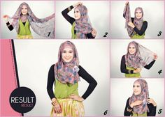 Hijab Tutorial on Pinterest | Hijab Tutorial, Hijabs and Hijab Styles