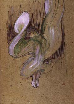 Henri de Toulouse Lautrec, Loie Fuller, pastel, - Buscar con Google