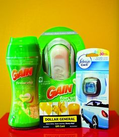 P Gain Prize Pack & $10 Dollar General Gift Card Giveaway!