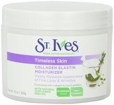 St. Ives Facial Moisturizer, Timeless Skin Collagen Elastin, 10oz Great for Skin