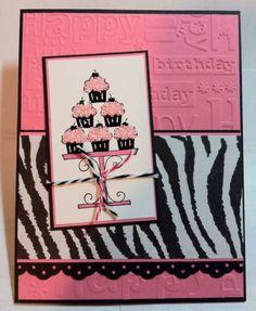 crazy for cupcakes by foxylady - Cards and Paper Crafts at Splitcoaststampers
