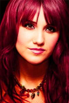 Dulce Maria. Deseree, I like this for your crazy red color.