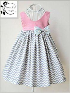 Gracelyn Dress PDF Pattern Size 2 to 6 by Luxe Pattern Co - Craftsy