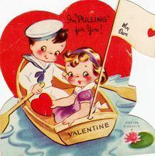 Vintage Unused Americard Valentine