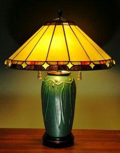 JW Art Pottery - Jacquie Walton - Eucalyptus Lamp