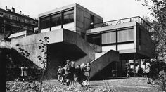 fuckyeahbrutalism:  French Primary School, Geneva, Switzerland, 1962 (Candilis, Josic, Woods with Arthur Bugna)