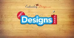 Want access to over 2,500 free machine embroidery designs? Head on over to EmbroideryDesigns.com!
