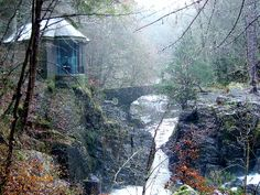 The Falls of Braan one of our 25 unusual & fun things to do in Scotland | Europe a la Carte Travel Blog