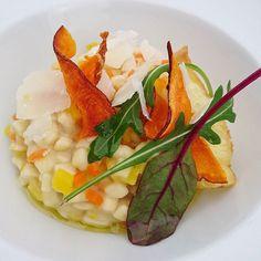 Crozotto aux petits légumes....#menubistromique #crozotto #risotto #crozets #Savoie #parmesan #Food #Foodista #PornFood #Cuisine #Yummy #Cooking