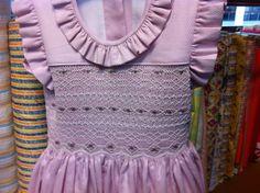 Vestido de pique. Junio 2015