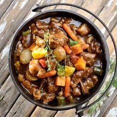 7 potjie recipes Eleven delicious ways to stir the pot.Eleven delicious ways to stir the pot. Braai Recipes, Oxtail Recipes, Crockpot Recipes, Cooking Recipes, Curry Recipes, Pork Recipes, Salad Recipes, South African Dishes, South African Recipes