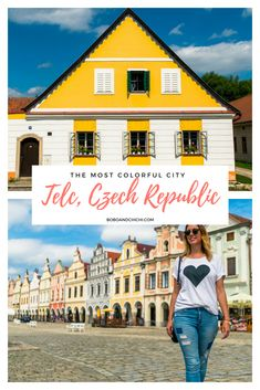 Check out one of the most colorful cities in the world in Telc Czech Republic! This guide gives you things to do in Telc, what to see in Telc, and why it's one of the best Europe travel destinations! #telcczechrepublic #czechrepublic #europetravel #europetraveltips #europetraveldestinations