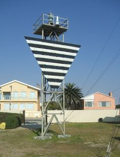 Lighthouses of S Africa: Port Nolloth Lighthouse This stands at the most northern point of S Africa. Bu.1909