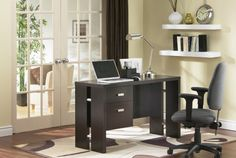 South Shore Furniture Element Collection, Working Desk, Chocolate: Amazon.ca: Home & Kitchen