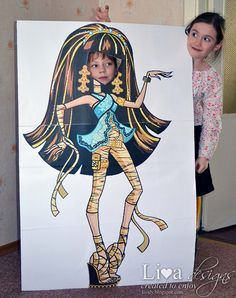DIY: Monster High Party - Photo Props