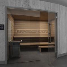 Sauna Comfort Line Z Przeszkleniem Frontowym Saunaline
