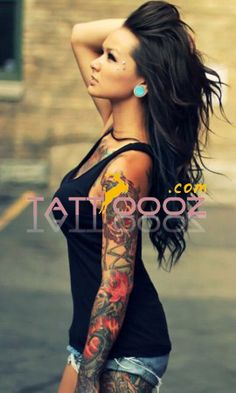Arm Tattoo for Women