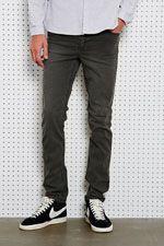 Cheap Monday Sehr enge Jeans in verwaschenem Schwarz bei Urban Outfitters