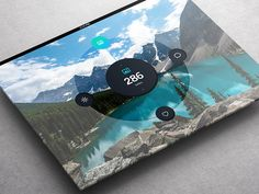 Weather Dashboard // Global Outlook UI/UX on App Design Served
